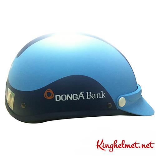 Nón bảo hiểm quảng cáo ngân hàng đông á - Kinghelmet