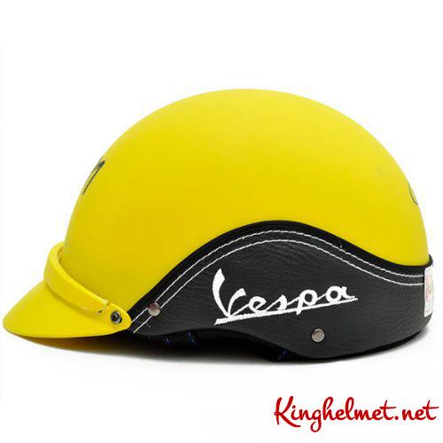 Mẫu nón bảo hiểm Vespa làm quà tặngở TPHCM xưởng sản xuất Kinghelmet