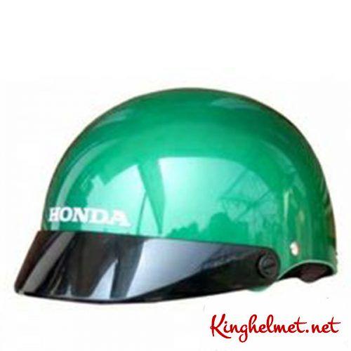 Mẫu nón bảo hiểm quảng cáo Honda QT02 làm quà tặng ở TPHCM xưởng sản xuất Kinghelmet