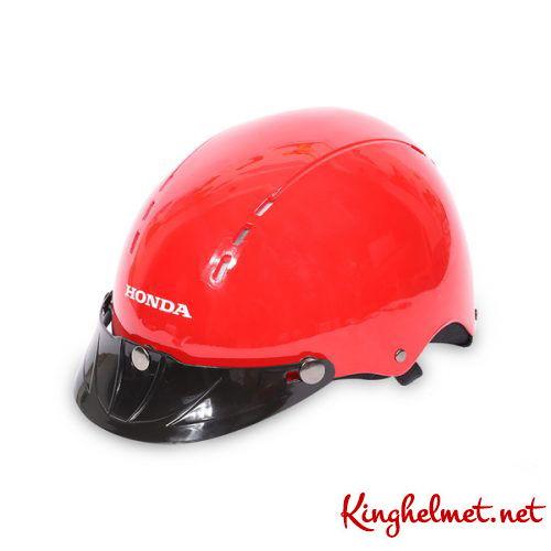 Mẫu nón bảo hiểm Honda làm quà tặng QT01 ở TPHCM xưởng sản xuất Kinghelmet