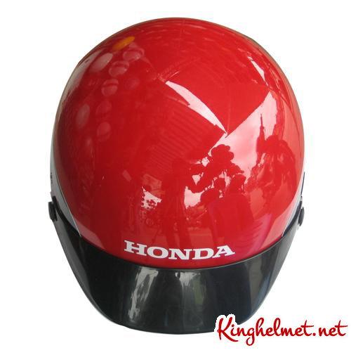 Mẫu nón bảo hiểm Honda màu đỏ ở TPHCM xưởng sản xuất Kinghelmet