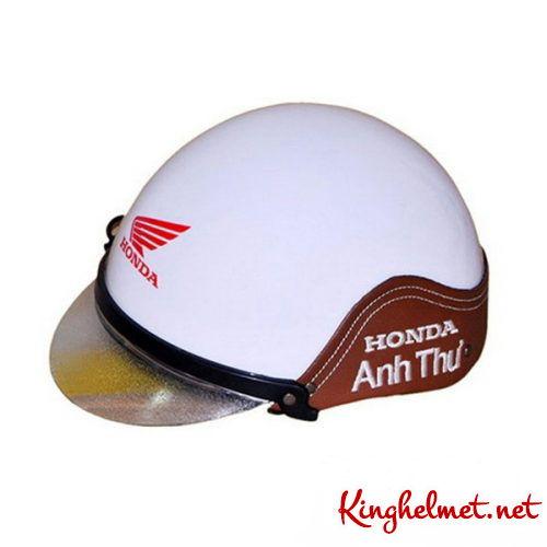 Mẫu nón bảo hiểm đại lý Honda Anh Thư xưởng sản xuất Kinghelmet