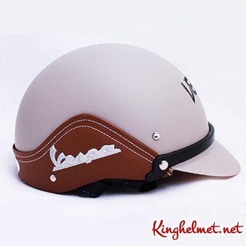 Mẫu nón bảo hiểm quảng cáo Vespa làm quà tặngở TPHCM xưởng sản xuất Kinghelmet