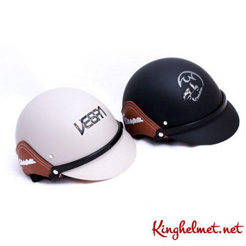 Mẫu nón quảng cáo Vespa làm quà tặngở TPHCM xưởng sản xuất Kinghelmet