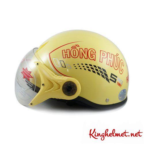 Mẫu nón bảo hiểm đại lý Yamaha Hồng Phúc xưởng sản xuất Kinghelmet