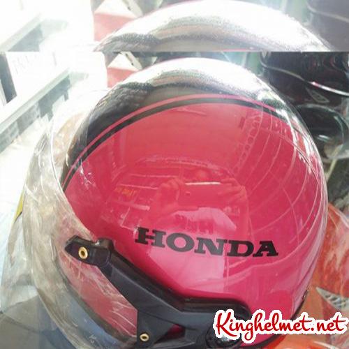 Mẫu nón bảo hiểm quảng cáo Honda Kinghelmet