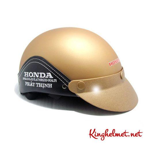 Mẫu nón bảo hiểm đại lý Honda phát thịnh xưởng sản xuất Kinghelmet