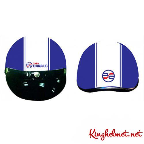 Mẫu nón bảo hiểm quảng cáo Dana Úc làm quà tặng ở TPHCM xưởng sản xuất Kinghelmet