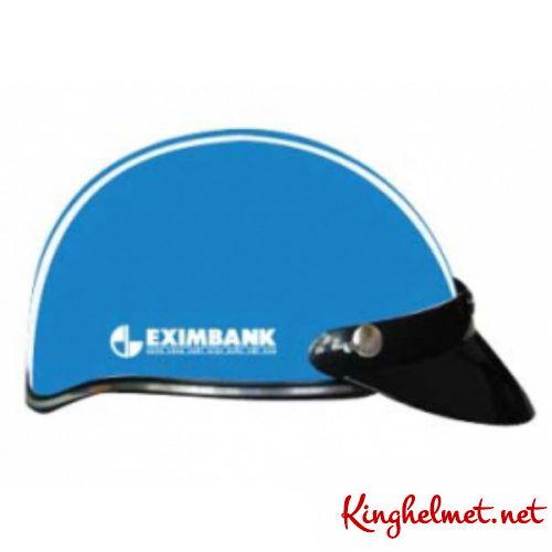 Mẫu nón bảo hiểm quảng cáo Eximbank làm quà tặng ở TPHCM xưởng sản xuất Kinghelmet