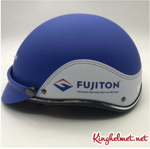 Mẫu nón bảo hiểm quảng cáo Fujiton làm quà tặng ở TPHCM xưởng sản xuất Kinghelmet