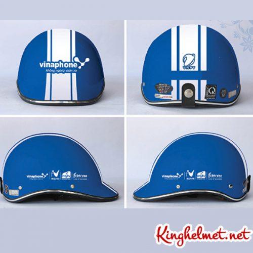 Mẫu nón bảo hiểm Vinaphone làm quà tặng ở TPHCM xưởng sản xuất Kinghelmet