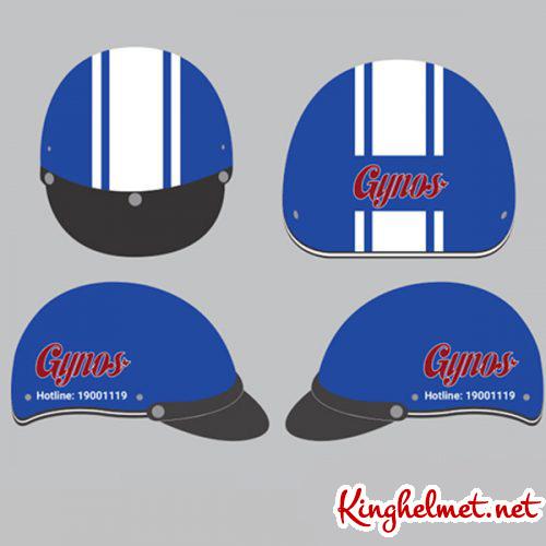 Mẫu nón bảo hiểm Gynos làm quà tặng ở TPHCM xưởng sản xuất Kinghelmet