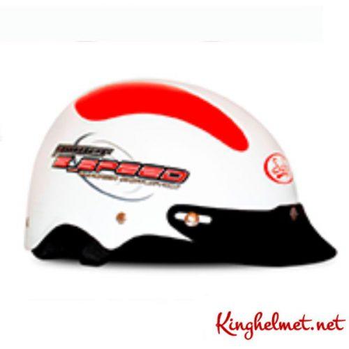 Mẫu nón bảo hiểm quảng cáo Speed làm quà tặng ở TPHCM xưởng sản xuất Kinghelmet
