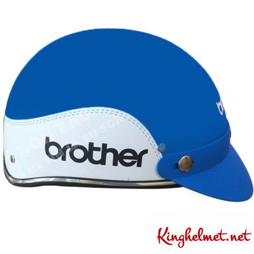 Mẫu nón bảo hiểm quảng cáo Brother ở TPHCM ở TPHCM xưởng sản xuất Kinghelmet