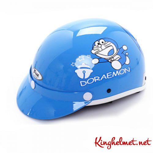 Mẫu nón bảo hiểm quảng cáo Doraemon làm quà tặng ở TPHCM xưởng sản xuất Kinghelmet