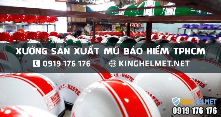 xưởng-sx-mũ-bảo-hiểm-tphcm-giá-rẻ---Kinghelmet