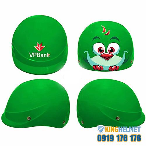 Cơ sở sản xuất mũ bảo hiểm, in logo lên mũ quảng cáo làm quà tặng tphcm - Kinghelmet