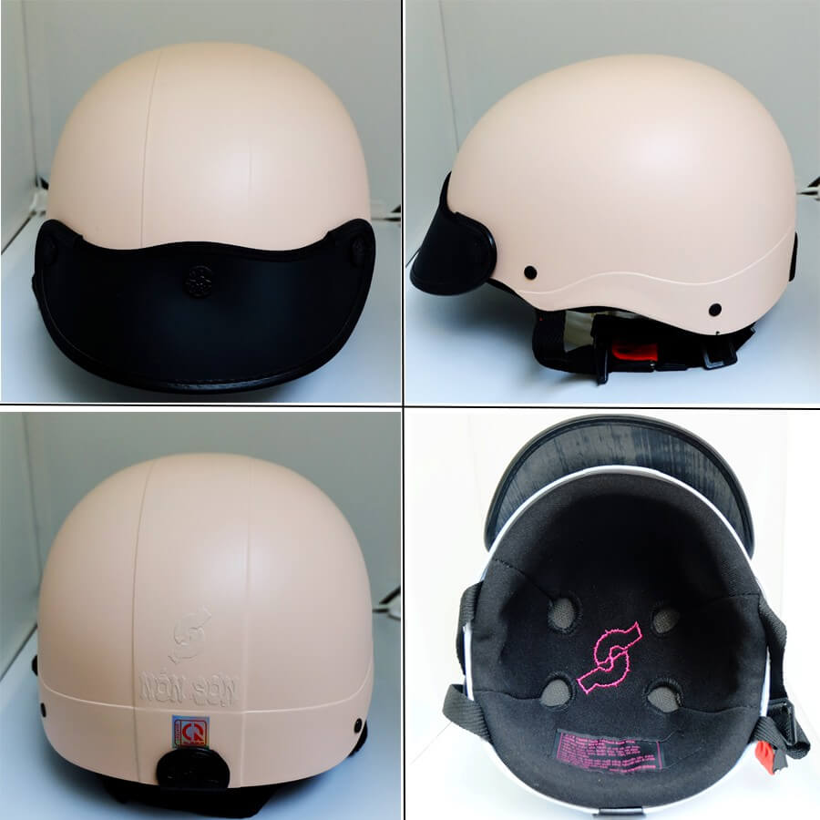 Bí quyết chọn màu sơn nón bảo hiểm để sản xuất (3)